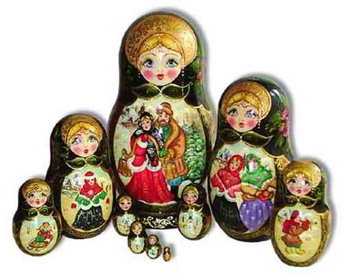 Матрешки купить лучшие русские